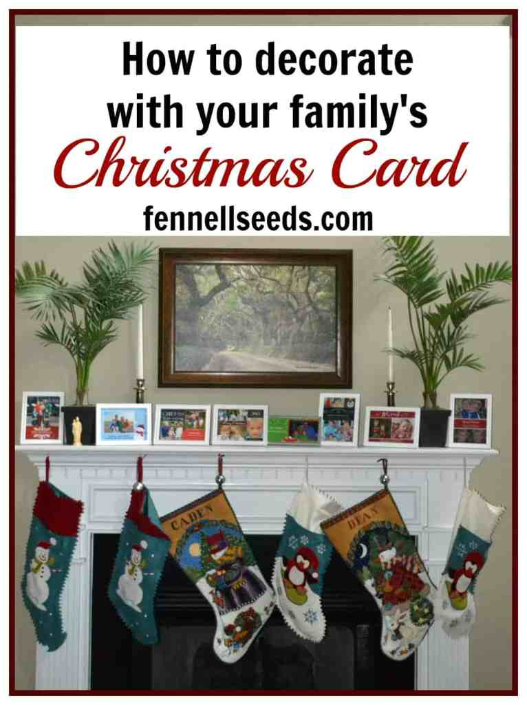 How to Decorate with your Christmas Cards