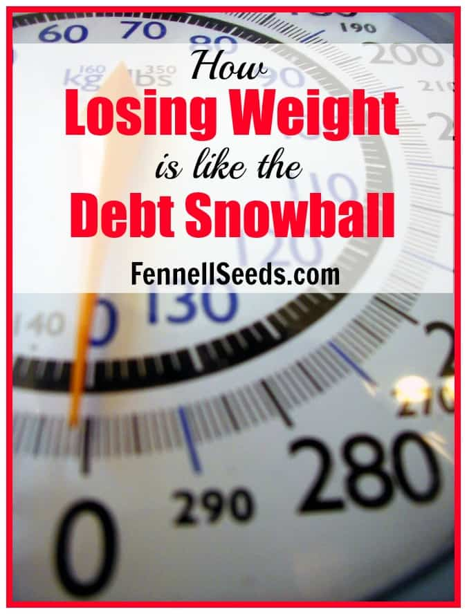 How Losing Weight is like the Debt Snowball