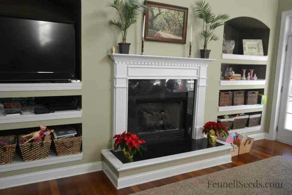 Family Room Fireplace Week 1 Challenge