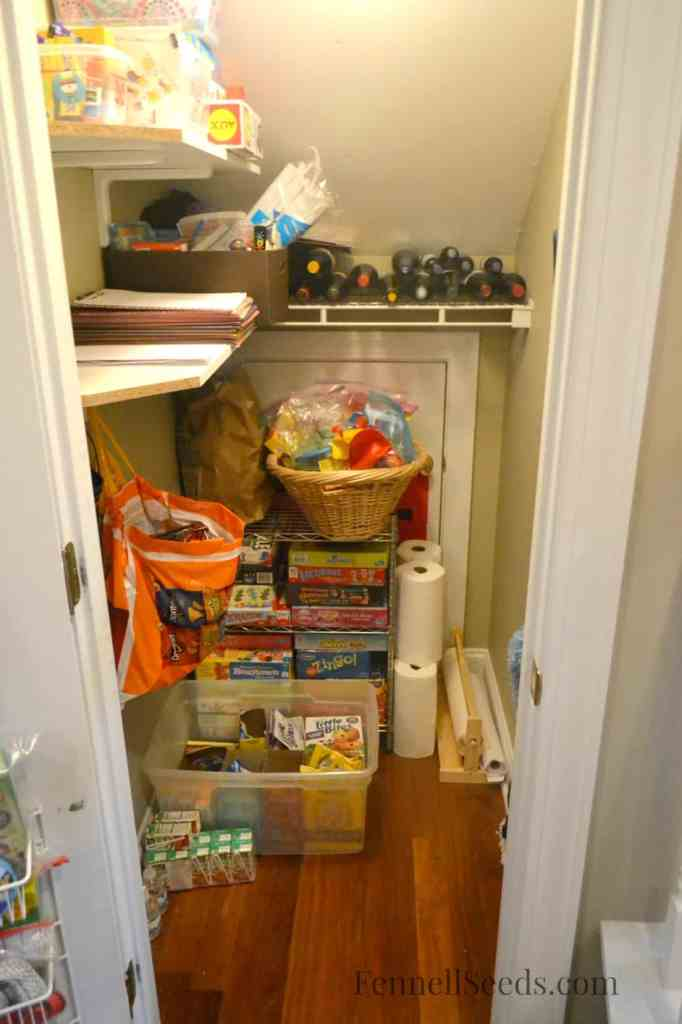 Craft Closet After Picture - Fennell Seeds