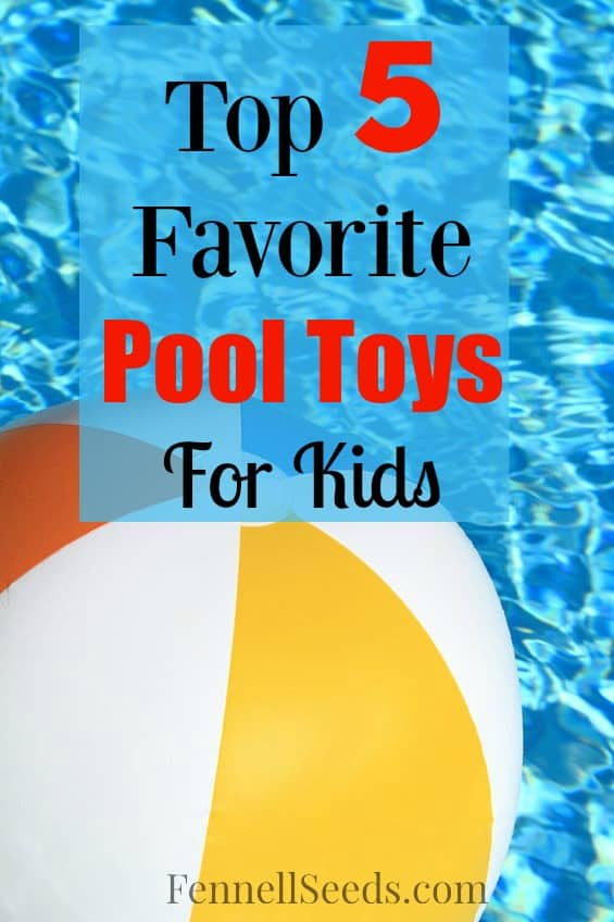 My 3 kids love the go to the pool every day. Here are their top 5 favorite pool toys the past couple years.