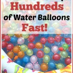 How to Fill Up Hundreds of Water Balloons Fast.