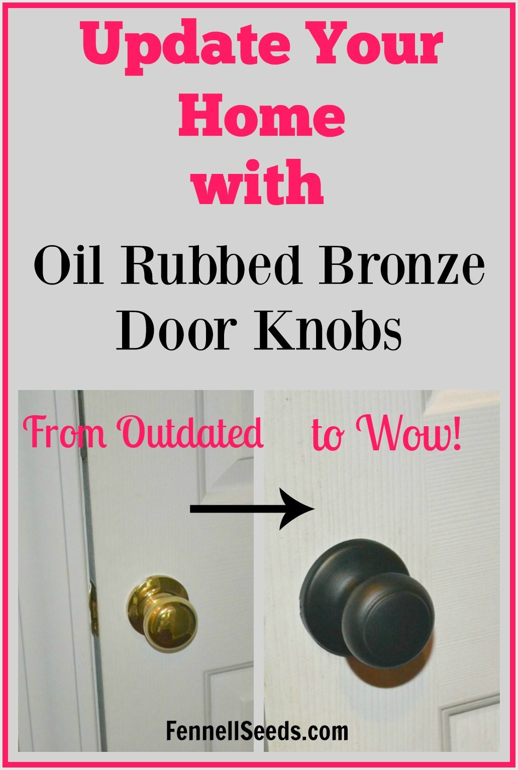 i have been thinking of updating to oil rubbed bronze door knobs i love all - Oil Rubbed Bronze Door Knobs