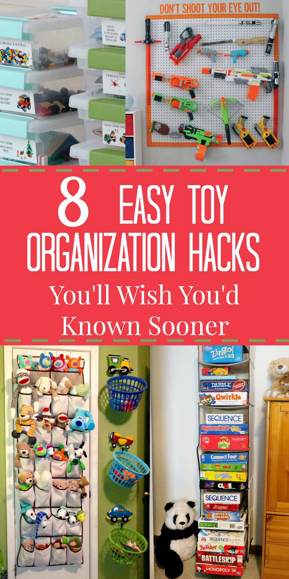 8 Kids Storage And Organization Ideas: 8 Ridiculously Easy Toy Organization Hacks You'll Wish You