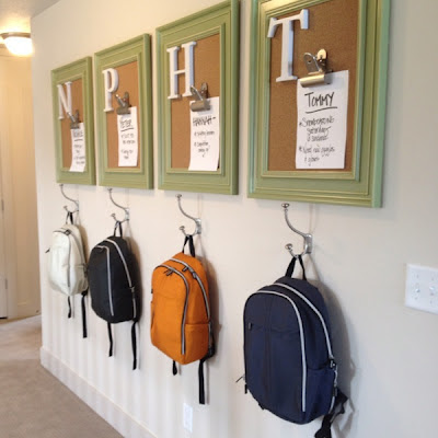 Backpack storage | Backpack storage ideas | Coat storage | Coat rack | coat hook | backpack hook | place for backpacks