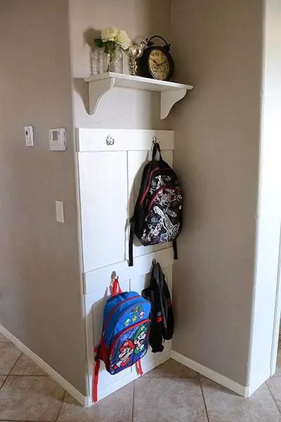 Genial Backpack Storage | Backpack Storage Ideas | Coat Storage | Coat Rack | Coat  Hook |