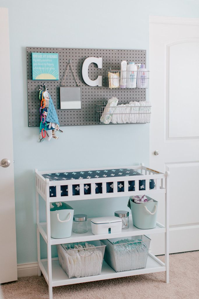 changing table organized nursery diaper changing station organized diapers diaper changing table - Diaper Changing Table