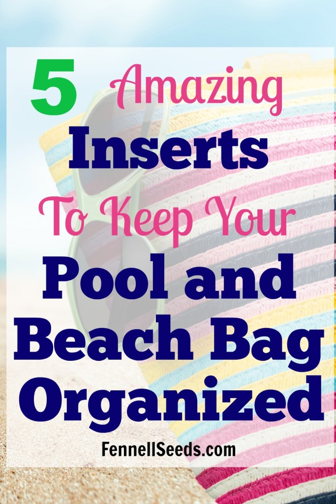 pool bag organization | beach bag organization | organize your beach bag | pool bag ideas | beach bag ideas | pool bag | beach bag