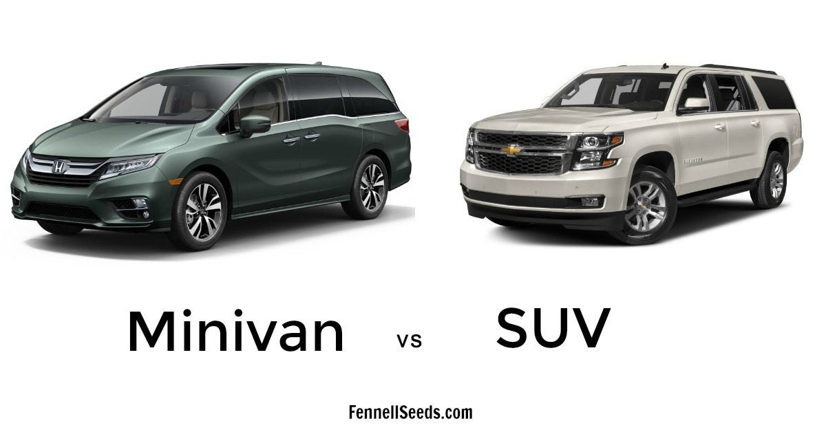 Minivan Vs Suv A Mom Dilemma