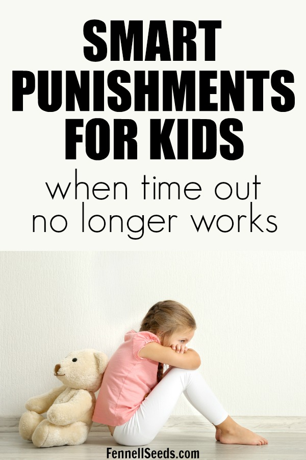 Smart creative punishments for kids when time outs no longer work. Consequences | Punishments