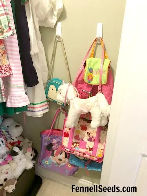 Girls Closet | Closet Organization