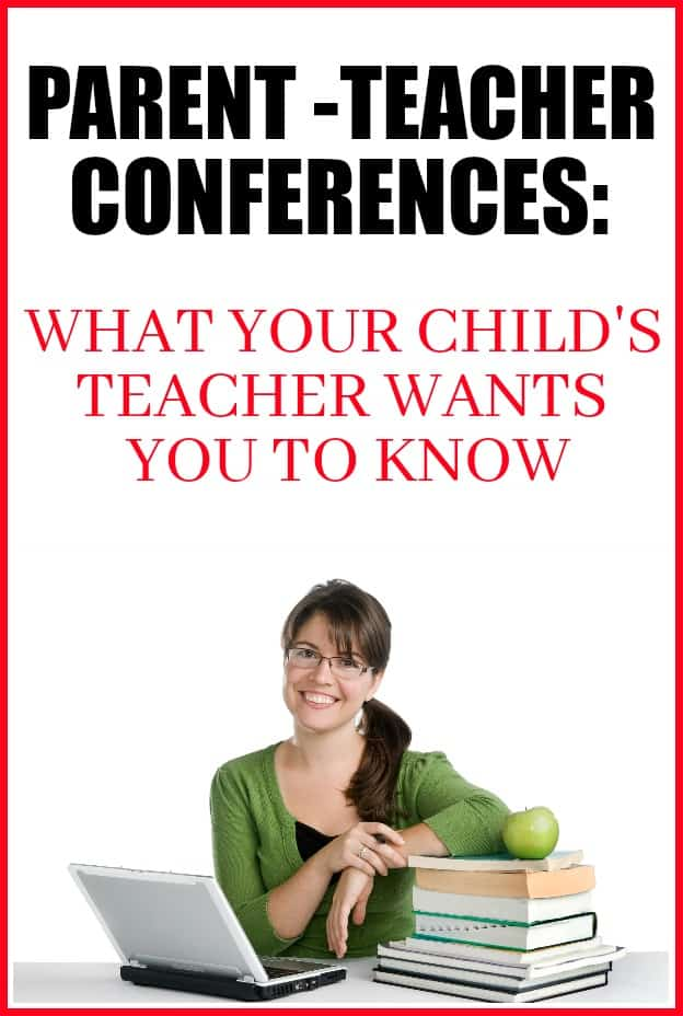What teachers want you to know about Parent Teacher Conferences. A teachers point of view.