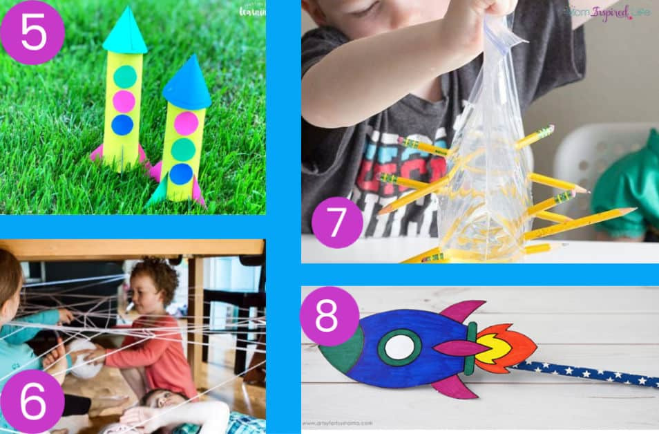 Indoor kids activities for when you are stuck at home. #kidsactivities
