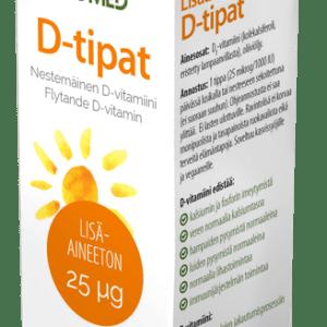 D vitamiinitipat