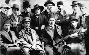 Štrajkački odbor đačkih demonstracija u Sarajevu februara 1912.
