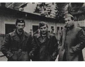 BiH revolucionari: Avdo Humo, Đuro Pucar Stari i Rodoljub Čolaković na drugom zasedanju Avnoja u Jajcu 1943. godine