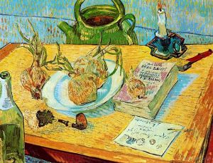 Drawing-Board-Pipe-Onions-and-Sealing-Wax-1889-Vincent-Van-Gogh-