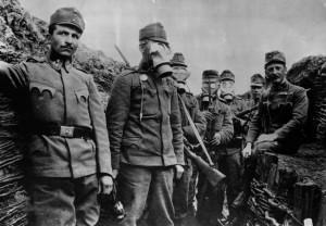 austrijski vojnici u rovu