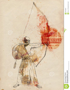 http://www.dreamstime.com/royalty-free-stock-photography-kyudo-image29126297