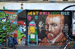 van gog grafiti