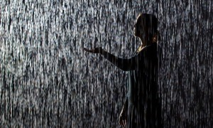 'Rain Room' installation