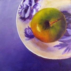 apple_oil_painting__still_life__green_apple_on_violet__marina_petro_0a9ff6529198fec3d42b2d4acad8cb84