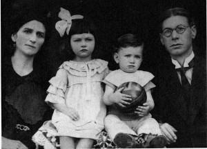 Milica, Danica, Danilo i Eduard Kiš