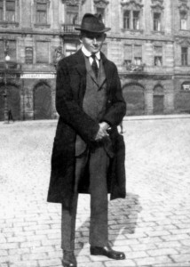 Franz-Kafka-Prague-1922