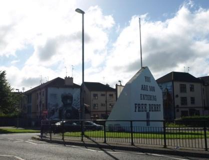 Derry, quartier de Bogside