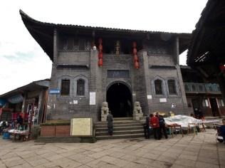 Temple taoïste à Luocheng