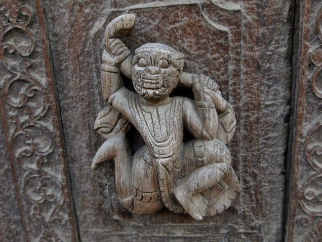 Mandalay, le monastère Shwenandaw