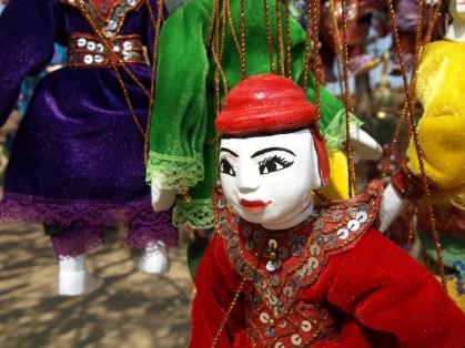 marionnette, Menuha temple, Bagan