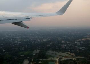 Décollage de Yangon