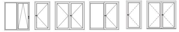 Diseños puertas abatibles