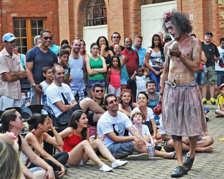 Espetáculo Júlia encerrou mostra oficial no domingo - foto Rodrigo Alves