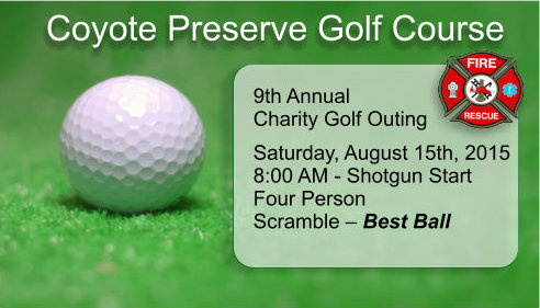 2015 Golf Outing Saturday August 15th
