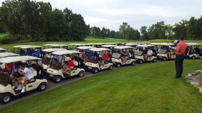 Golf Shot Gun Start 2016