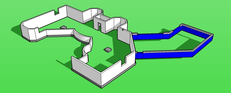 3D CAD Sketch for Geo Layout
