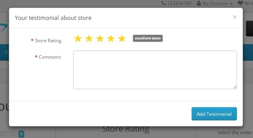 Модуль Отзыв после заказа на Opencart 2 / order feedback