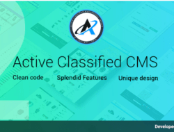 Active Classified CMS 2.0