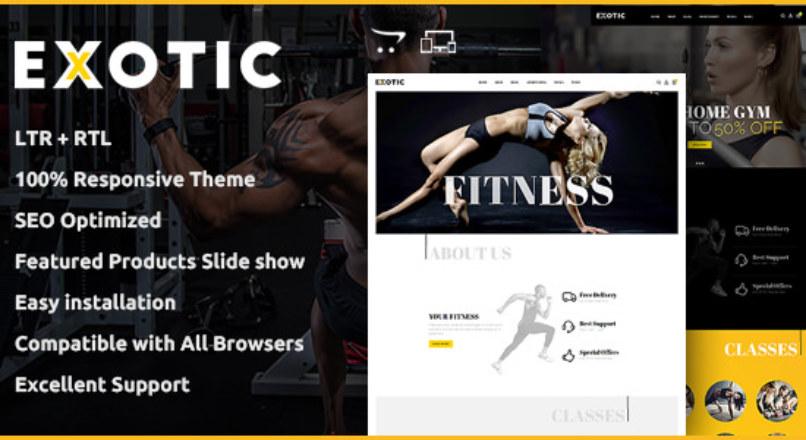 Exotic — Multipurpose OpenCart Theme