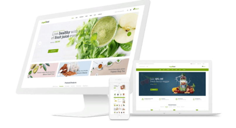 OrganicFood — Food, Alcohol, Cosmetics OpenCart Theme (Included Color Swatches)