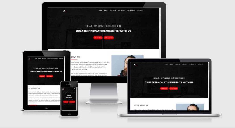 Alo — Personal Portfolio HTML Template