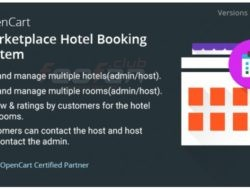 Opencart Marketplace Hotel Booking