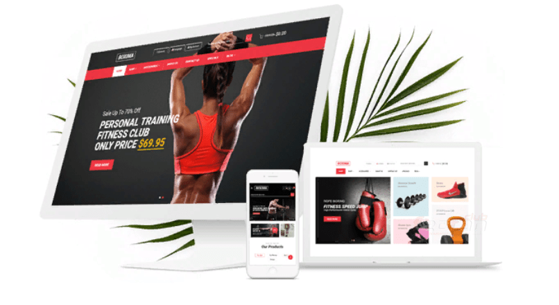 Boxima — Sport OpenCart Theme (Page Builder Layouts)