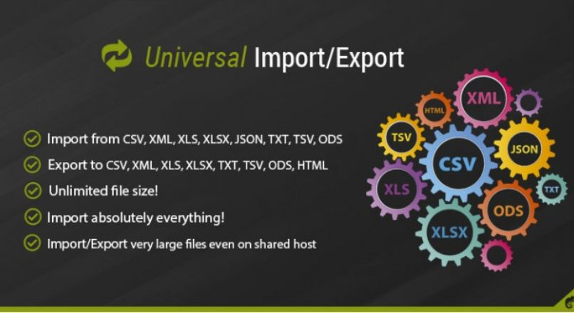 Universal Import/Export Pro v_3.1.0 nulled VIP