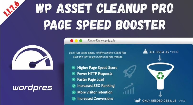WP Asset CleanUp Pro 1.1.7.6 – Page Speed Booster