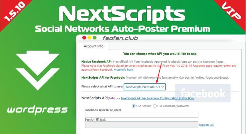 NextScripts Social Networks Auto-Poster Premium 1.5.10 null