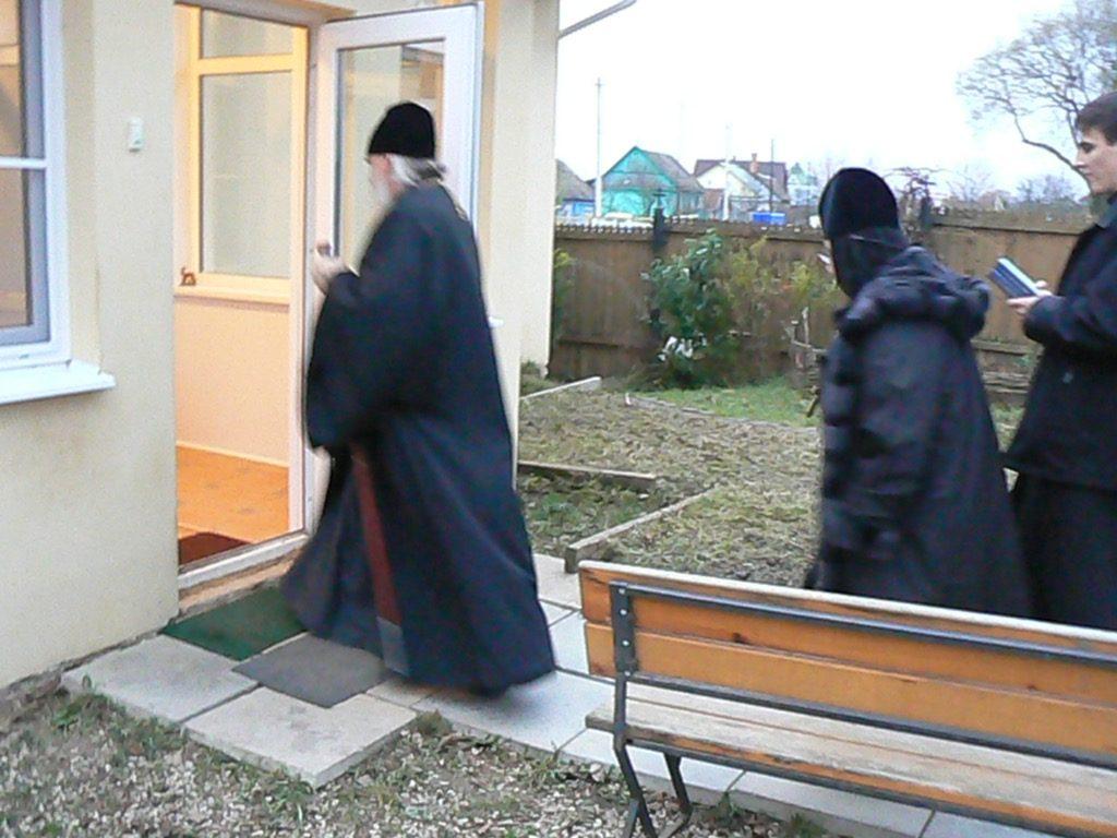 Посещение Владыки