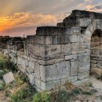 Руины античного Пантикапея